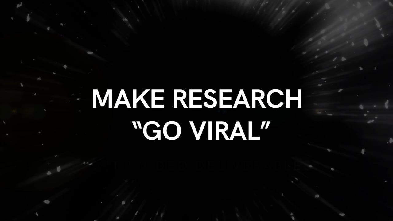Make Market Research Go Viral