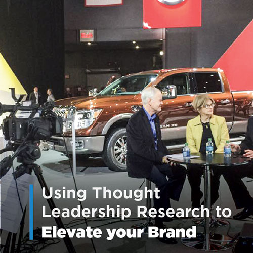 Market Research - Using Thought Leadership to Elevate Your Brand